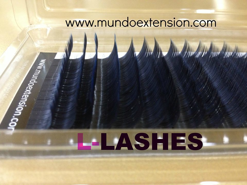 "NEW REAL MINK LASHES MISTO 16 LINEE CURL ""L"" 00047"