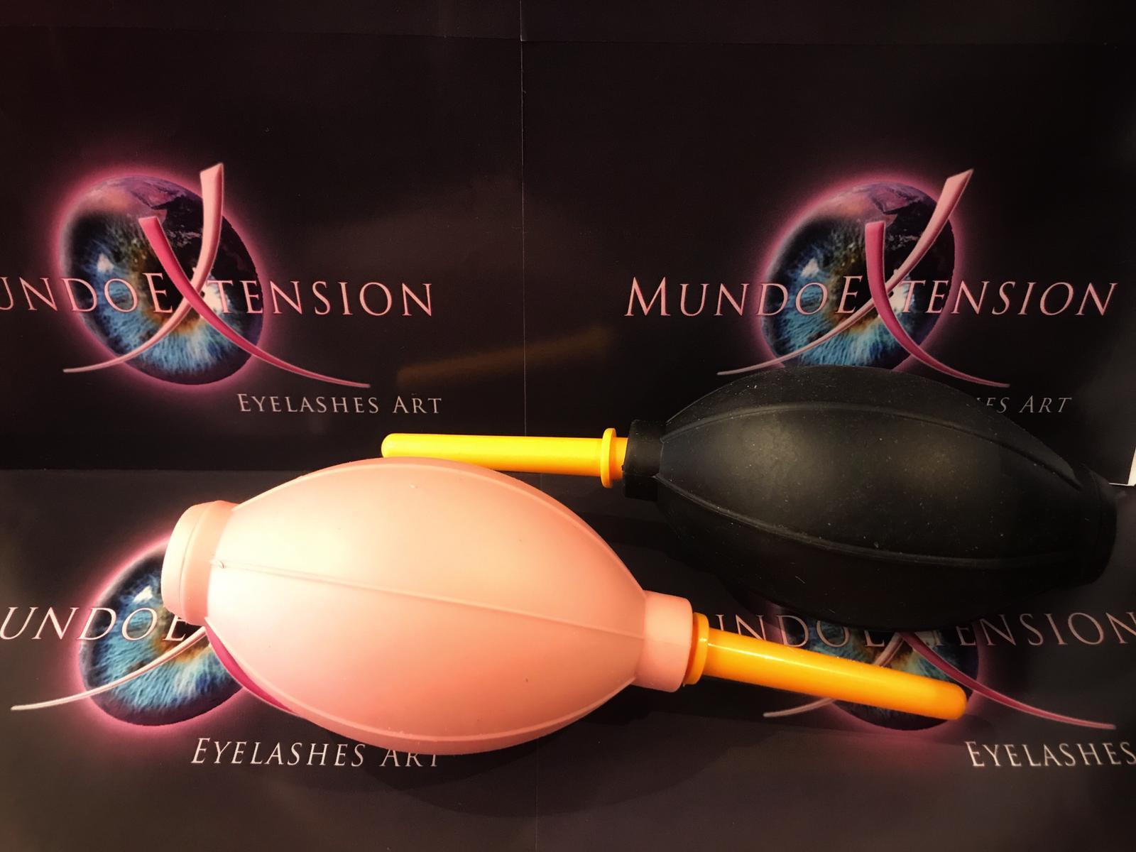 Airblower: per seccare la colla dopo impianto di Extension Ciglia Mundoextension