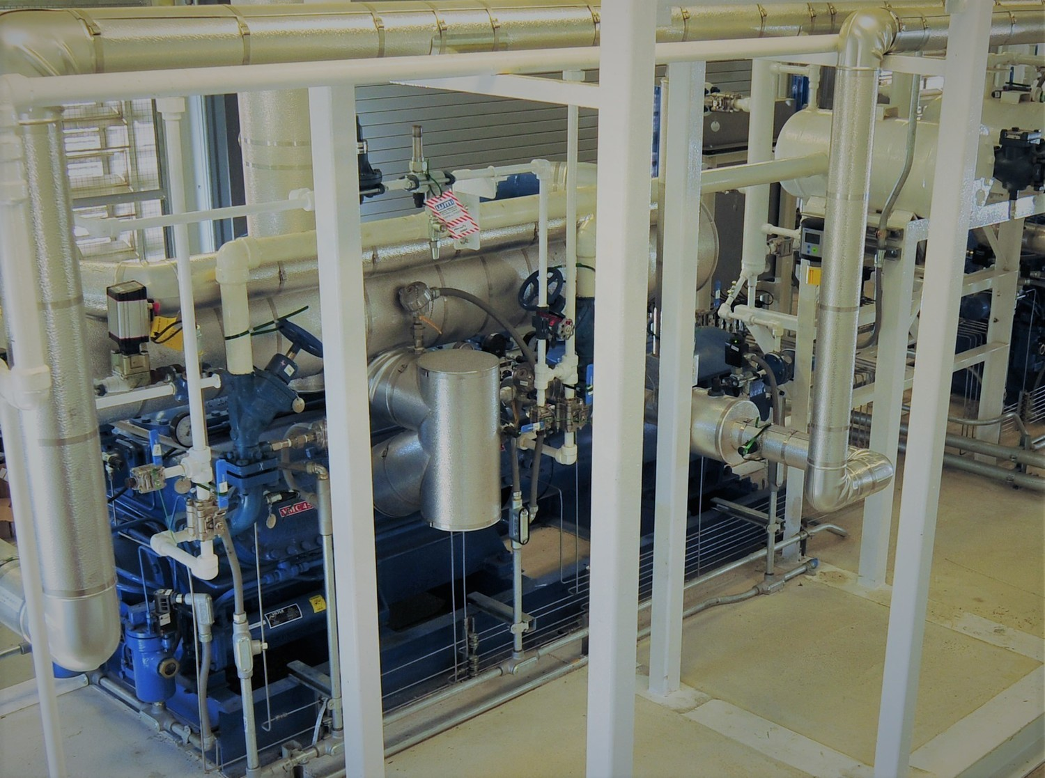 Energy Optimization for Ammonia Refrigeration