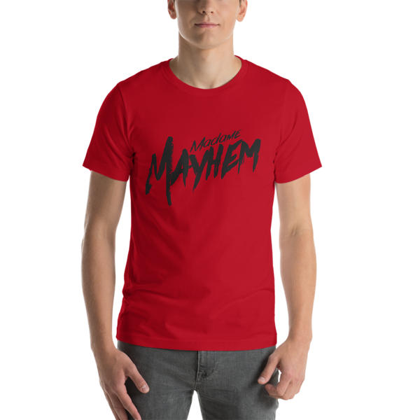 Short-Sleeve Red/Blk Tee