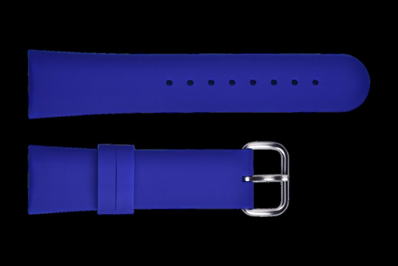 Ремешок силиконовый синий