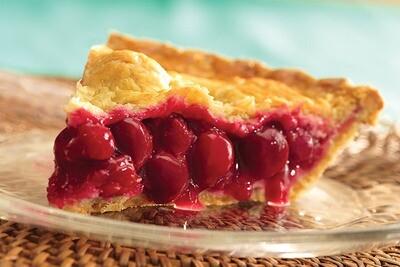 No Sugar Added Cherry Pie 8