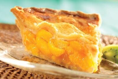 No Sugar Added Peach Pie 8