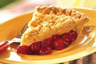 Cherry Streusel Pie