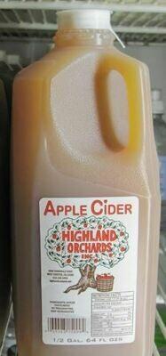 Apple Cider, 1/2 Gallon, HO