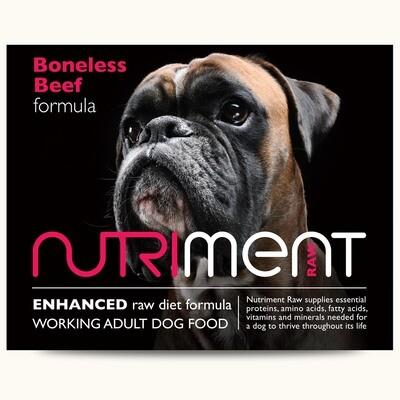 Nutriment - Beef formula - 500g