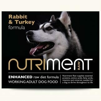 Nutriment - Rabbit & Turkey Formula -  500g