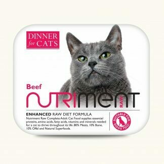Nutriment - Dinner for Cats - Beef - 175g