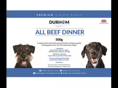 Durham - Beef Dinner - 500g