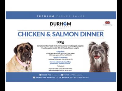 Durham - Chicken & Salmon Dinner - 500g