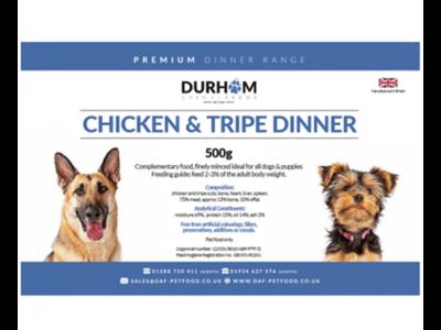 Durham - Chicken & Tripe Dinner - 500g