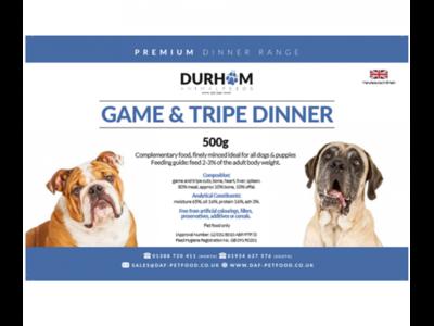 Durham - Game & Tripe Dinner - 500g
