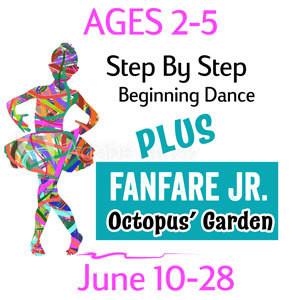2-5 Yr. Old (3 weeks) Dance & Fanfare Jr. - June 10-28