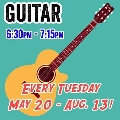 Guitar - Tuesdays 6:30pm - 7:15pm