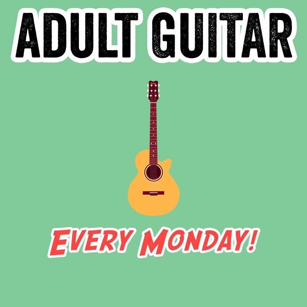 Adult Guitar - Mondays 6:45-7:30pm