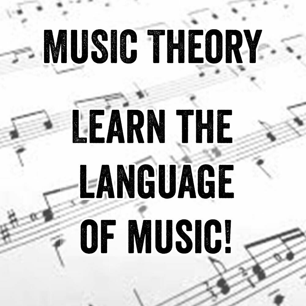 Beginning Music Theory - Thursdays 4:30pm-5:15pm