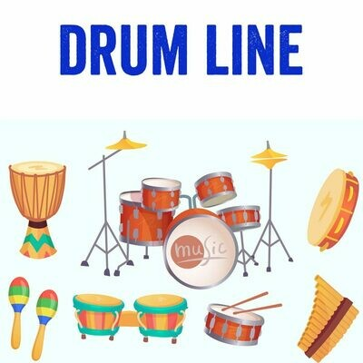 Drum Line - Mondays 6:00pm-6:45pm