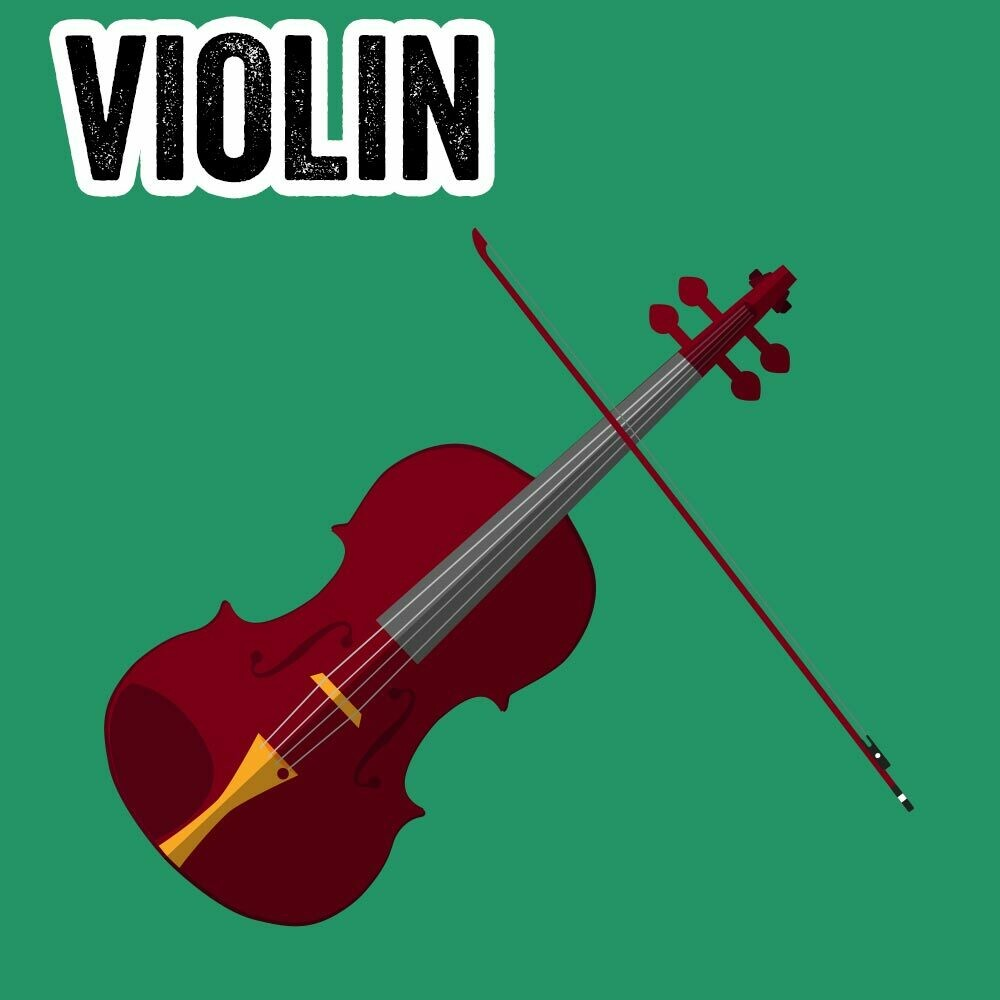 Violin - Tuesdays 4:30pm-5:15pm