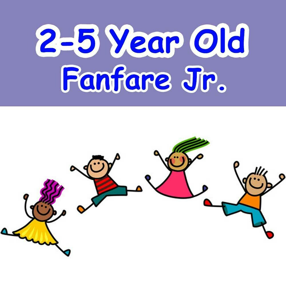Fanfare Jr. - Mondays 6:00pm-6:45pm