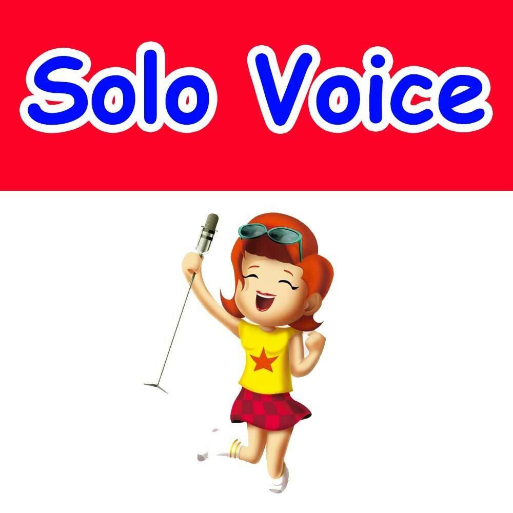 Solo Voice - Tuesdays 5:15pm-6:00pm