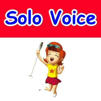 Solo Voice - Tuesdays 5:15pm-6:00pm