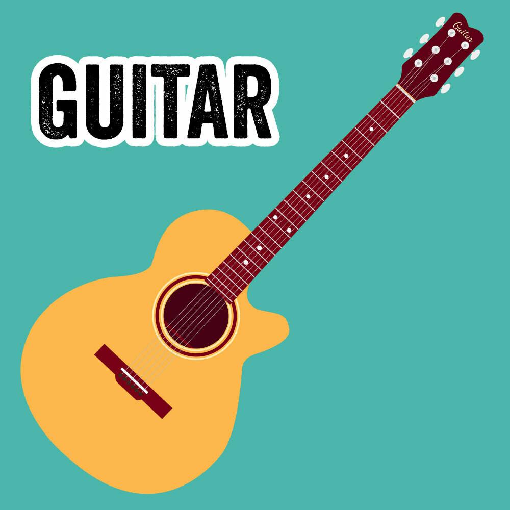Guitar - Tuesdays 3:45pm-4:30pm