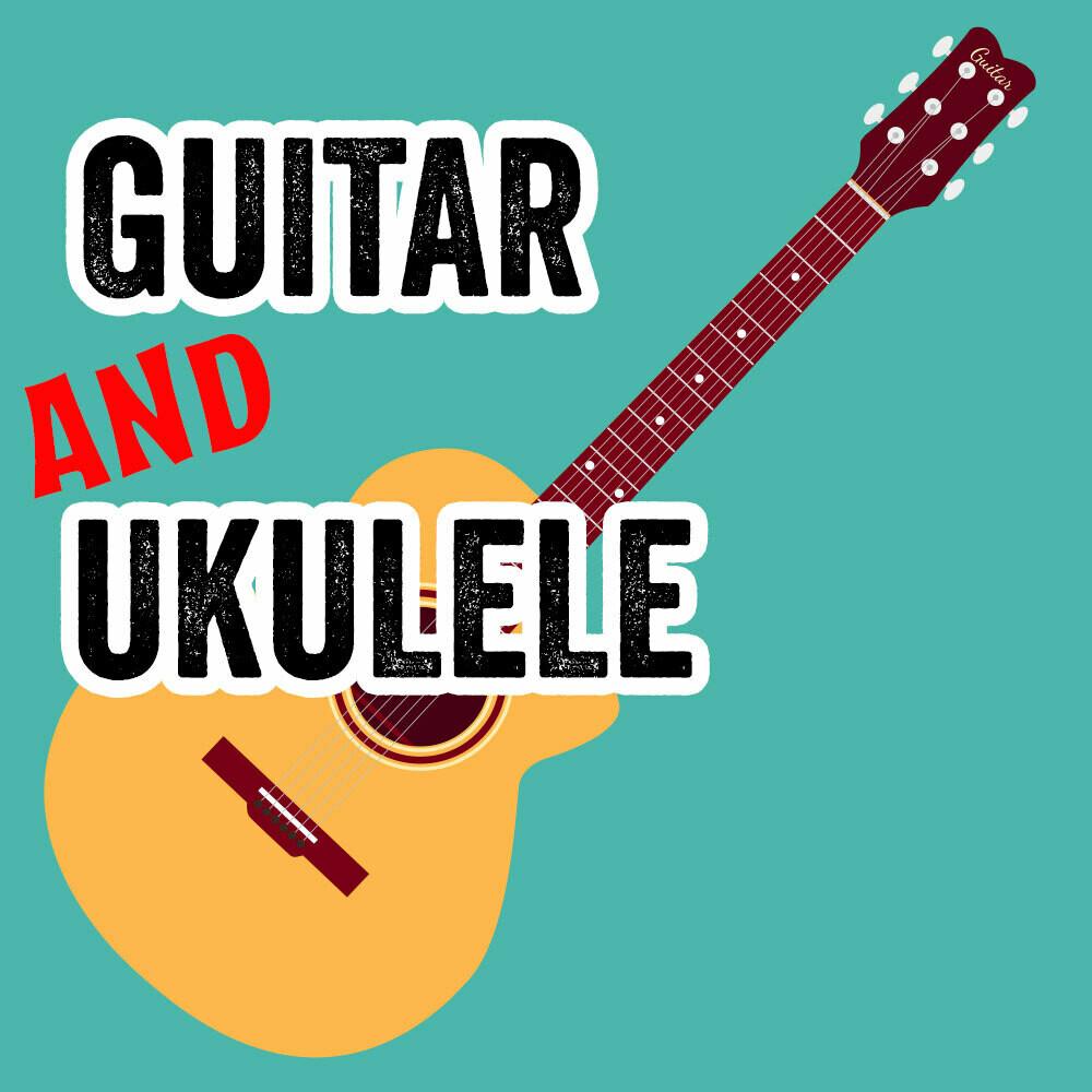 Guitar/Ukulele - Thursdays 3:45pm-4:30pm