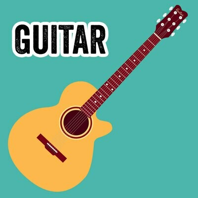 Guitar - Wednesdays 6:00pm-6:45pm