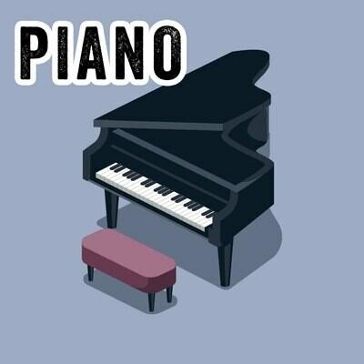 Piano - Tuesdays 6:00pm-6:45pm