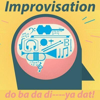 """""""Improv class: do ba da di----ya dat!"""" (Jazz)  - Tuesdays 1:45-2:30pm"""