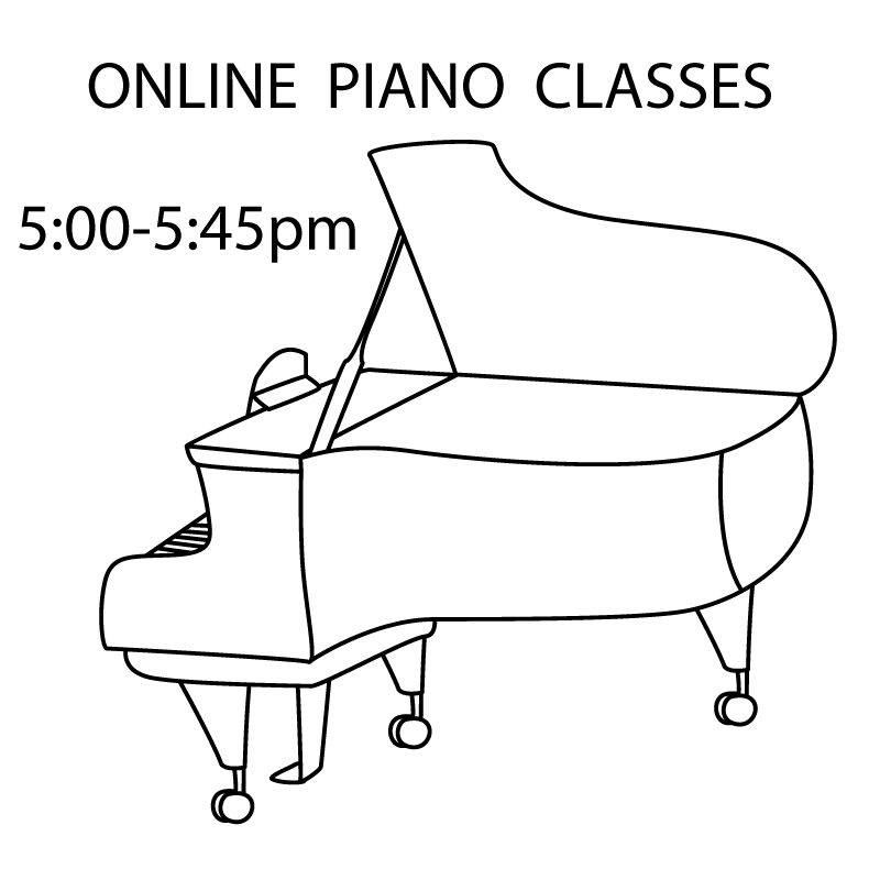 Piano Play Time - ONLINE Tuesdays 5:00-5:45pm