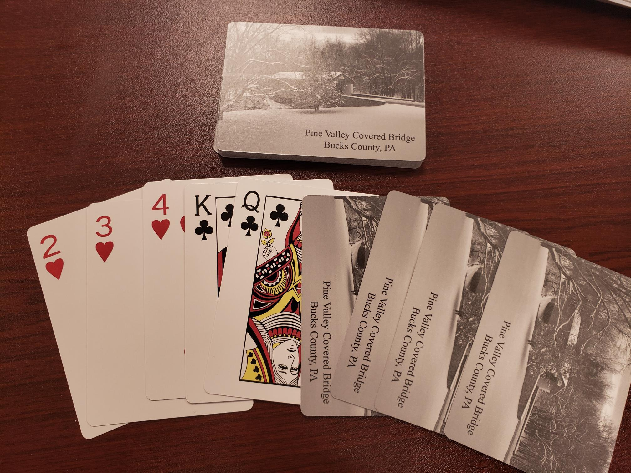 Pine Valley Covered Bridge Playing Cards 00002