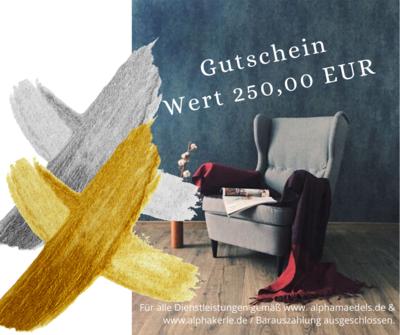 Gutschein 250,00 EUR