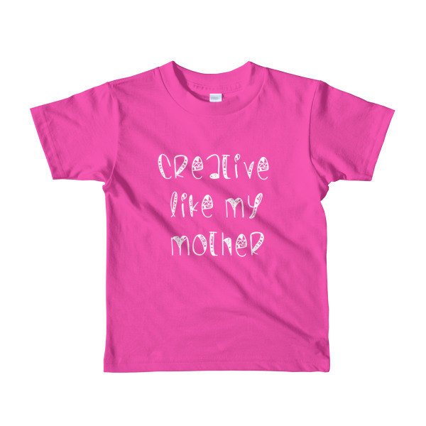 Creative Like My Mother Kiddie Tee