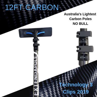12FT Carbon Composite Pole kit