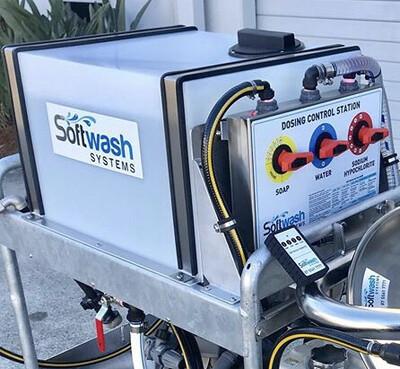 Soft Wash System (Trolley Mount)
