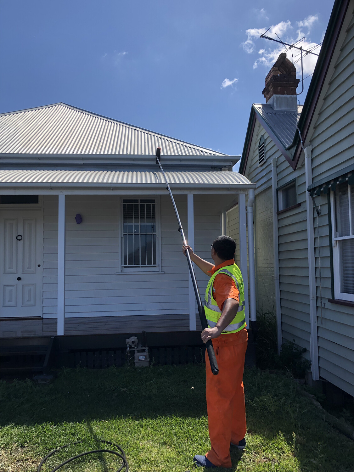 House Washing Cleaning Poles Australia 🇦🇺 7.2 M