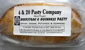 4 & 20 Beef Steak & Guiness Pasty 7oz 822939999237