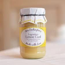 Mrs Darlington's Legendary Lemon Curd 320g 819244010566