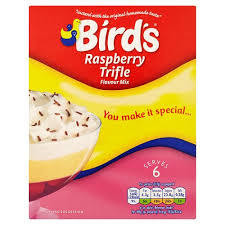 Birds Raspberry Trifle Mix