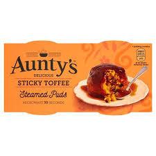 Aunty's Puds Sticky Toffee 2pk 9417986934556