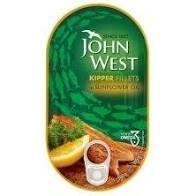 John West Kipper Fillets Sunflower 160g 5000171054777