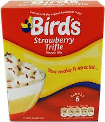 Bird's Trifle Mix Strwbrry 141g 5000354700088