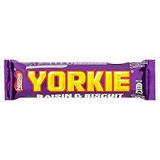 Yorkie Raisin & Biscuit 44g 7613034872593