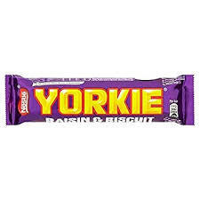 Yorkie Raisin & Biscuit 44g