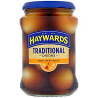Haywards Trad Onions 400g