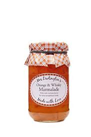 Mrs Darlington's Orange & Whisky Marm 340g 819244010016