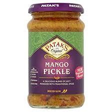 Pataks Mango Pickle 283g 5011308000109