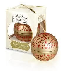 Ahmad Tea Bauble Pear & Cinnamon