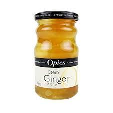 Opies Stem Ginger 280g 5010392005120